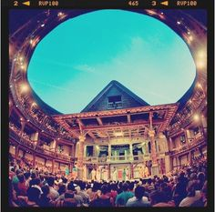Shakespeare's Globe Theatre was modeled on surviving documentary evidence of the original one, pulled down in 1644. - Green Guide Editor