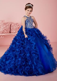 Tiffany Princess Style 13463 Flower Girl Dress photo