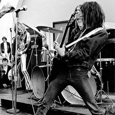 Fred 'Sonic' Smith, guitarist of the MC5 and Sonic's Rendezvous Band.