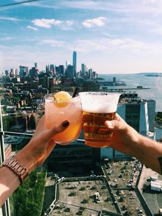 I want to travel back to New York and have drinks with an old friend