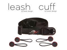 Leash and Cuff, by Peak Design by Peter Dering, via Kickstarter. Mola todo!, no?