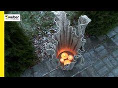 Pasigaminkite lauko žibintą iš weber HobbyConcrete betono - YouTube