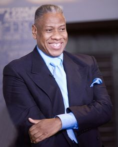 Andre Leon Talley, dressed up in a LV blanket and his all time fav's black hat and suit. Description from pinterest.com. I searched for this on bing.com/images
