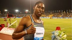 South Africa's 800m Olympic gold medalist Caster Semenya showed her versatility when won the women's 400m race at the Diamond League event in Brussels on Friday.