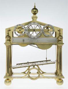 Rolling ball clock