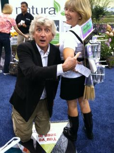 Camera+ ~ photo by SeedKeeperCo : Trade show floor fun with @mikenow at #IGC12