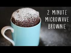 2 Minute Microwave Mug Brownies | Hello Lana