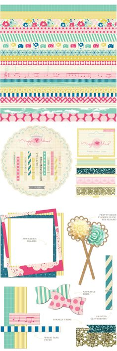 Crate Paper Maggie Holmes Washi Tape