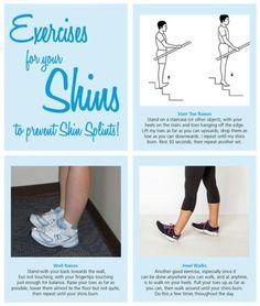 Exercise for shin splints