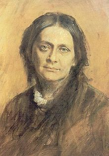 Portrait of Clara Schumann by Franz von Lenbach, 1878. Clara Schumann was a German musician and composer, considered one of the most distinguished pianists of the Romantic era. She exerted her influence over a 61-year concert career, changing the format and repertoire of the piano recital and the tastes of the listening public. She and her husband, composer Robert Schumann, encouraged Johannes Brahms, and she was the first pianist to give public performances of some of Brahms' works.