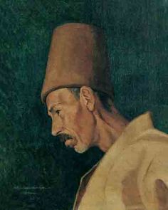 Kai Fine Art is an art website, shows painting and illustration works all over the world. Oriental, Museum Curator, Turkish Art, Ottoman Empire, Sufi, Hats For Men, Mona Lisa, Istanbul, Fine Art