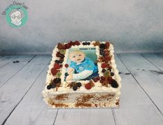Fresh whipped cream cake with fresh fruit - Cake by DeOuweTaart