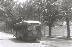 DC Transit PCC on North Capital Street (Route 80) (Joe Testagrose Collection).