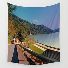 Road into Danube valley Wall Tapestries, Tapestry, Scenery, Photography, Products, Wall Hangings, Hanging Tapestry, Tapestries, Photograph