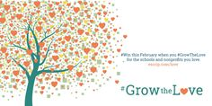 February's all about the love! #GrowTheLove for your #school or #nonprofit http://www.escrip.com/news/promos/index.jsp