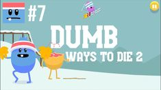 Walkthrough Dumb Ways To Die 2 | The Games: Freezerville Madness! [PT 7] gameplay no commentary. Fun games for the whole family to enjoy and great kids entertainment. Downloadable on PC and Android devices. Freezerville playthrough: don't lick the pole, rocket ski jump, penguin ice hockey, yeti grooming, patchy ice figure skating, avalanche chalet, landmine curling. Do all this without dying horribly. My first try, so lots of epic fails.