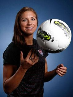 Alex Morgan (Soccer) first Olympic games! shes my favorite!!!!!!!