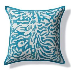 Handpainted Tiger Outdoor Pillow