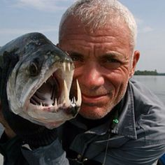 River Monsters. jeremy wade is awesome.