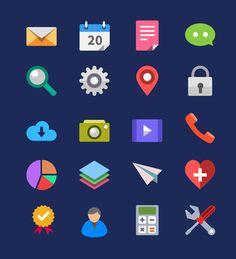 40-icones-au-format-PSD-flat-design-par-GraphicsFuel