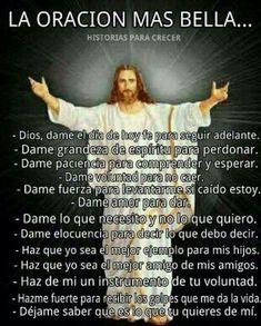 Meme God Prayer, Prayer Quotes, Bible Quotes, Bible Verses, Immaculée Conception, Spanish Prayers, Catholic Religion, Spiritus, Divine Mercy