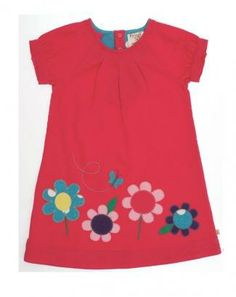 Frugi Applique Dress in fine cord £32