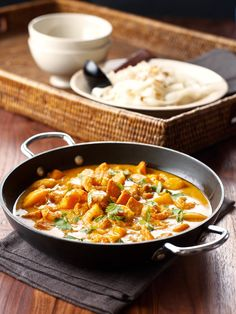 Red Prawn and Mango Curry