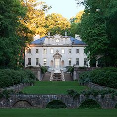 """Two #Georgia homes made @southernliving's list of """"The South's Best Historic Homes!"""""""