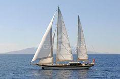 M/S Vivien (ex-Annabella), classic 47-m gulet built by Aganlar Yachts in 2008.