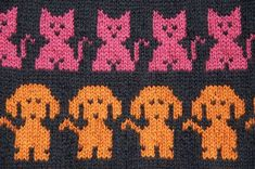 Handicrafts: Jacquard Drawings for Kids . Crafts: Jacquard Patterns for Kids Knits / Intarsia knitting patterns for children. Baby Knitting Patterns, Knitting Charts, Knitting For Kids, Double Knitting, Knitting Stitches, Knitting Projects, Stitch Patterns, Crochet Patterns, Tapestry Crochet
