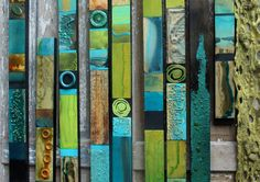 Einfache abstrakte minimalistische abholen Sticks für Ihr Haus oder Büro Wände. 3 Zoll breit Qualität Holzplanken mit aufgesetzten Holz glasiert Blöcke. Das sind meine besten Verkauf von Kunst, die Collagen aus den letzten 10 Jahren über 2000 in den USA verkauft worden Die Größe und