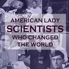 I suggest all my lovely ladies out there read this. It is all about badass women scientists. One can never have enough of badass women in science.