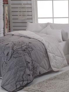 Prošívaný přehoz na dvojlůžko Mimi, 195 x 215 cm Bedding Sets, Comforters, Blanket, Modern, Furniture, Home Decor, Creature Comforts, Quilts, Trendy Tree
