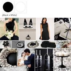 simple, elegent, chic BLACK and WHITE