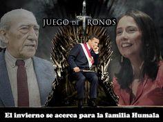 El invierno se acerca para la familia Humala. ¿Juego de tronos? Fotocomposiciòn de Ricardo Marapi para Spacio Libre.