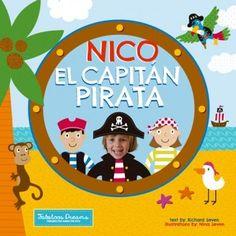Cuento personalizado: El Capitán Pirata de FABULOOS DREAMS