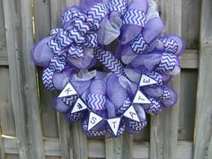 Hey, I found this really awesome Etsy listing at https://www.etsy.com/listing/188326749/kstate-wildcats-deco-mesh-wreath