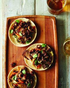Cauliflower and Oyster Mushroom Tacos from Food 52 Vegan cookbook #vegan