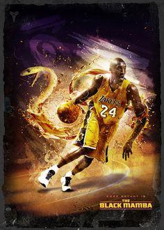Kobe Bryant is The Black Mamba
