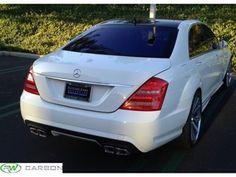 Mercedes W221 S63 AMG Style Rear Bumper