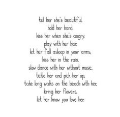 This is one i relate with like all other wemon. A women always needs to hear how you truly feel about her or how you see her, its not because she doesnt know , because it reminds her of how pretty, inside and out she really is. . . Compliments mean the most to a women when it's said by the one she has gavein her heart to. . .