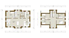 Højt 1½-planshus på 187 m² med unikke muligheder for indretning og detaljer. Se plantegning og få inspiration til dit nye personlige hus hos Danhaus.