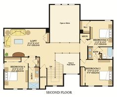 Fiore Floor Plans New Homes In Encinitas Cool