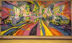Goldie's Grafitti Art