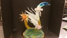 my last sugar sculpture for class