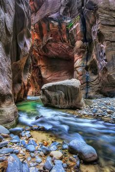 The Boulder , Zion National Park, Utah