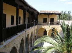 Cyprus Lefkosia Archontiko of Axiothea (mansion). One of the most characteristic examples of urban 18th century architecture.