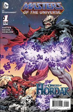 Review: Masters of the Universe: the Origin of Hordak #1, by Russel Harder