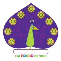 Scholastic Classroom Resources Jingle Jungle Peacock Hole-Punch Reward Tickets (SC553142)