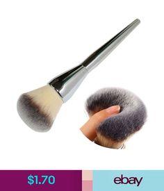 $1.7 - Kabuki Face Makeup Blush Powder Silver Handle Cosmetic Large Brush Foundation Hi #ebay #Fashion